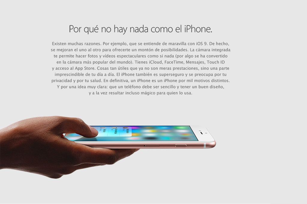 Por qué no hay nada como el iPhone