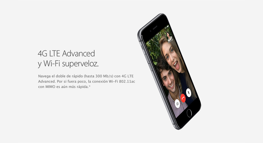 4G LTE Advanced y Wi-Fi superveloz