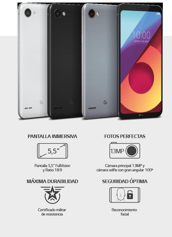 Características LG Q6