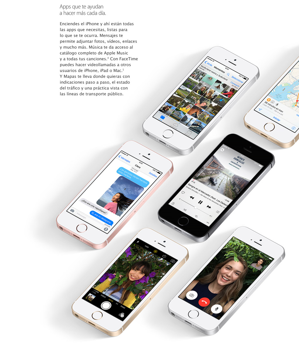 Compra el nuevo apple iphone se 16gb en phone house for Home building apps for iphone