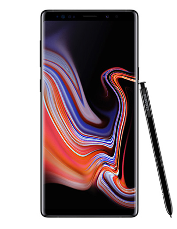 Samsung Galaxy Note 9 Midnigh Black